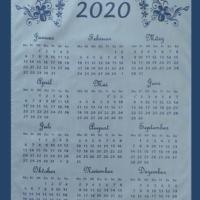 Bild Kalender 2020